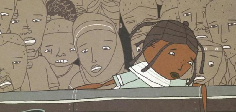 رحلة طفل لاجئ من اريتريا