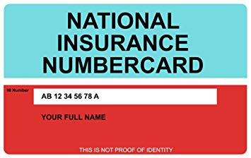 Apply for a National Insurance number